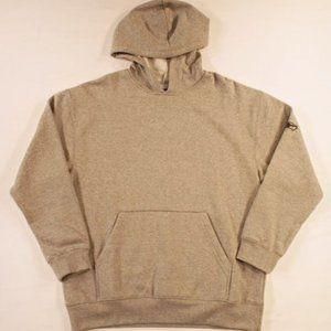 Reebok Hoodie Sweatshirt M Gray Logo NWT